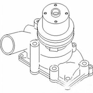 Water Pump Oliver 1650 1655 1600 157400as