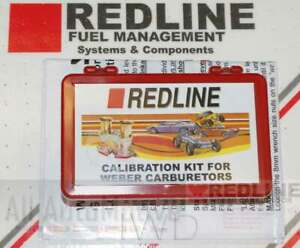Redline Idle Jet Pac For Genuine Weber Idf Dual Carburetors 40idf 44idf 48idf