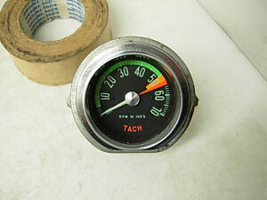 Real Gm Factory 1959 1962 Corvette Tachometer Low Mileage Survivor 283 327 2x4