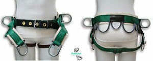 Buckingham Tree Climber Saddle 4 D Rings Lightweight Economical Design