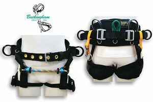 Buckingham Tree Climber Saddle Buckcat 2 D Ring 4 Wide Leg Straps