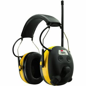 3m Worktunes Noise Reducing Headphones With Am fm Radio 90541