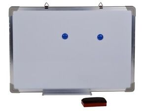 24 x16 Single Side Magnetic Writing Whiteboard Office Universal Dry Erase Board