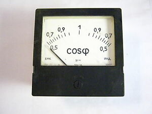Russian Phase Meter Phasemeter C302 1 100v 5a New