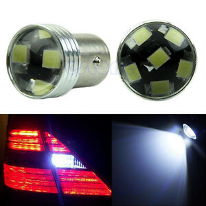 Hid White 1156 P21w 6 2835 Smd Led Projector Bulb Backup Reverse Light