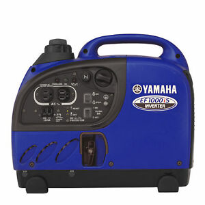 Yamaha Ef1000is 1 000 Watt Ohv Gas Powered Portable Inverter Rv Backup Generator
