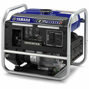 Yamaha Ef2800i 2 800 Watt Gas Powered Portable Rv Home Inverter Power Generator