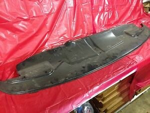 Nos 49 50 Chevrolet Fleetline Styleline Bumper Filler Panel Guard Gm