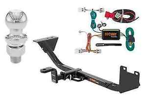 Curt Class 1 Trailer Hitch Tow Package For Nissan Sentra W 2 Ball