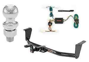 Curt Class 1 Trailer Hitch Tow Package For Toyota Corolla Sedan W 2 Ball