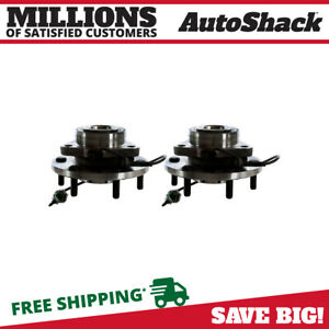 Pair Of 2 New Front Wheel Hub Bearing Assembly Units Fits An Infiniti Nissan