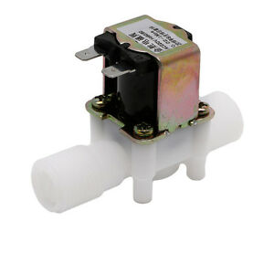 N c 1 2 Ac220v Electric Solenoid Valve Magnetic N c Water Air Inlet Flow Switch