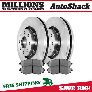 Front Rotors And Metallic Pads For 2004 2010 2011 Chevrolet Aveo 2013 2014 Spark