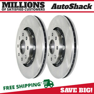 Front Brake Rotors Pair 2 Fits 2004 2011 Chevrolet Aveo 2013 2014 Spark 580212