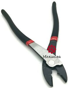 New 8 Electrical Crimping Plier Tool Crimper Electricians Plier Hand Tool