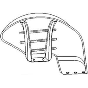 957e16312a Ford Tractor Parts Fender R h Dexta Super Dexta