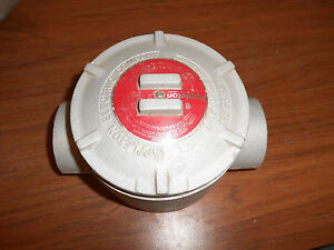 New No Box Appleton Grc200 Explosion Proof Outlet Junction Box 2 Inch W Cover