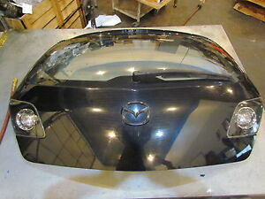 2007 Mazda Mazdaspeed3 Rear Door Hatch Assy Upper Damage See Pics