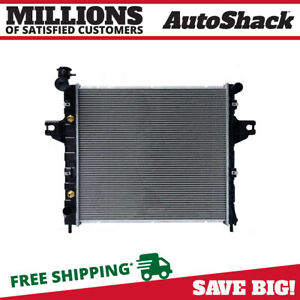 Aluminum Radiator For 1999 2000 2001 2002 2003 2004 Jeep Grand Cherokee 4 0l