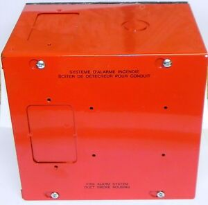 Edwards Siga dh Fire Alarm Smoke Steel Duct Detector Housing