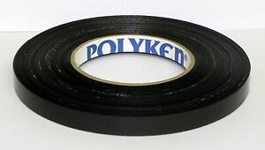 10 Rolls Polyken 281 Black Tape 5 X 60 Yd Waterproof Premium Harness Tape