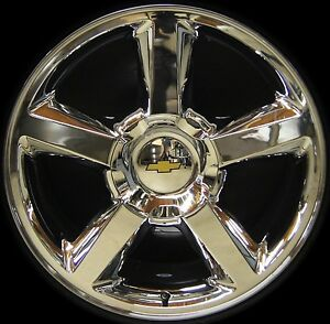 New Chevy Silverado Tahoe Suburban Avalanche Ltz 20 Chrome Wheels Rims Freeship