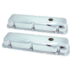 Spectre 5276 Chrome Valve Covers 1968 81 Buick 350
