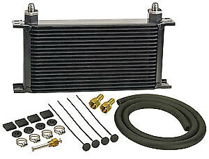 Derale 13403 19 Row Stacked Plate Transmission Cooler Kit
