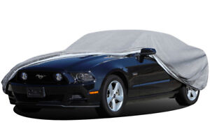 6 Layer Car Cover Breathable Waterproof Dual Outer Shell Durable Uv Protection