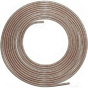 1 4 X 25 Ft Copper Nickel Brake Line Cupro Nickel Chevy Ford Dodge Easy Bend