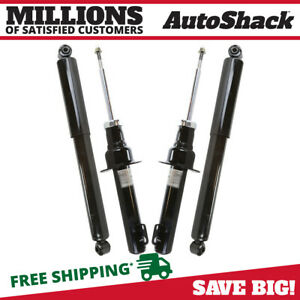 Front Rear Set 2 Bare Strut 2 Shock Absorber For 05 2010 Jeep Grand Cherokee