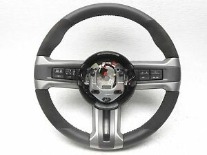 Oem 2013 2014 Ford Mustang Shelby Gt 500 Leather Steering Wheel