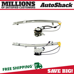 Rear Power Window Regulator With Motor Pair For 2002 2006 2007 Jeep Liberty