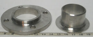 Stainless Steel 3 Butt Weld Stub End W slip on Flange free Shipping