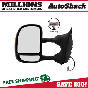 Power Heated Folding Signal Left Side Mirror Fits 03 2007 Ford F 250 Super Duty