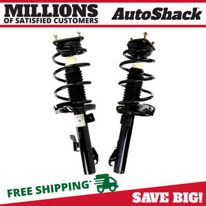 Front Complete Strut Coil Spring Assembly Pair 2 For 2004 2013 Mazda 3 2 5l
