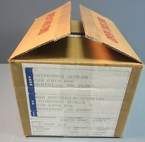 Box Of 1000 Fairbanks Scale 16288 Carbonless Paper 4 Part Ncr 3 15 16 X 7 1 8