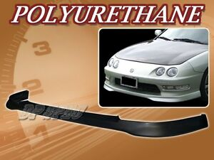 For 98 01 Acura Integra T r Poly Urethane Pu Front Bumper Lip Spoiler Body Kit