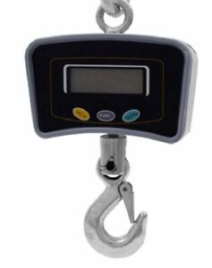 Digital Crane Scale Industrial 500kg 1100 Electronic Hanging Portable Game New