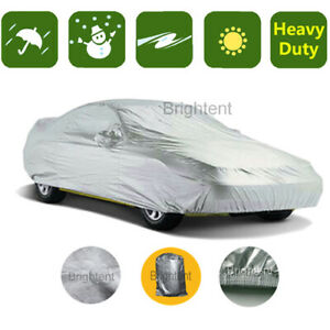 Waterproof Car Cover Universal Fit For Subcompact City Cars Uv Resistant Pch0s