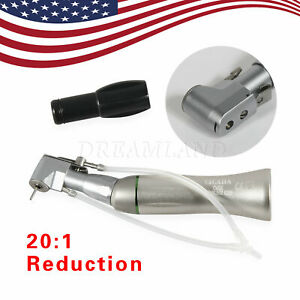 Nsk Dental Implant 20 1 Handpiece Surgery Contra Angle Latch Type Fit 2 345 Bur