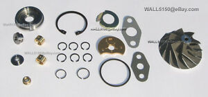 Rebuild Kit For Holset Hx35 Turbocharger And New 54 X 78 Compressor Wheel