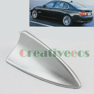 Silver Car Dummy Roof Bmw Style Suv Decorative Rear Tail Back Shark Fin Antenna