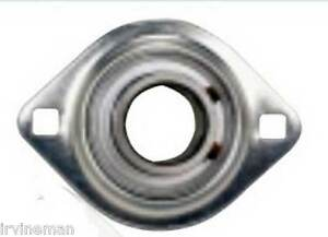 Fhpflz206 19 Bearing Flange Pressed Steel 2 Bolt 1 3 16 Inch Bearings Rolling