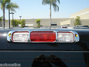 Chevrolet Silverado 2500 Truck 1999 2006 Tfp Abs Chrome 3rd Brake Light Cover