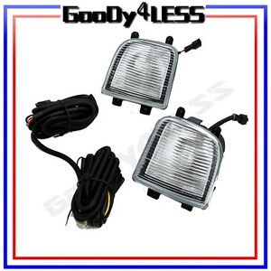 For 99 04 Fog Lights Kit Oe Replacement Lamp Pair Harness Switch Relay Bulbs