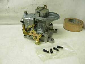 4412 3 Holley Carburetor 500 Cfm 2bbl Racing Carb Base Plate Chevy Ford Mopar