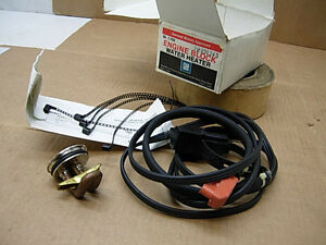 Nos 1955 89 Gm Factory Engine Block Heater 996245 Buick Chevy Olds Pontiac Gmc
