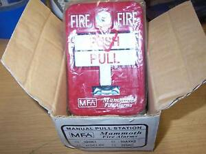 New Mammoth Fire Alarm 32sk1 pk Fire Alarm Pull Station