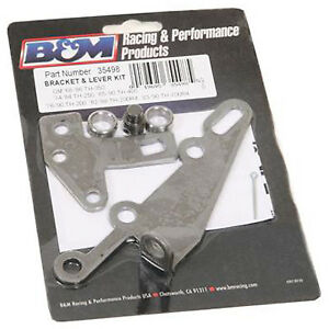 B M 35498 Th350 400 Shifter Cable Bracket Lever Kit